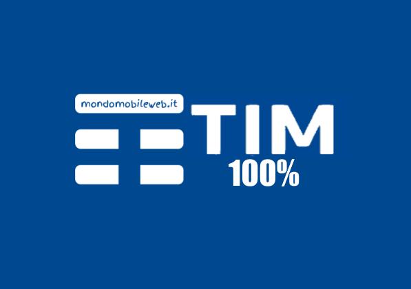 TIM 100% X3, convergente, 5 Giga