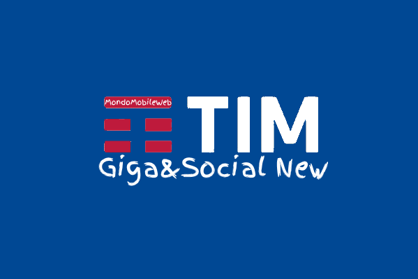 Photo of Tim Giga&Social New: 1 Giga in 4G a 1,90 euro al mese per 1 anno. In più Chat e Social senza consumare Giga