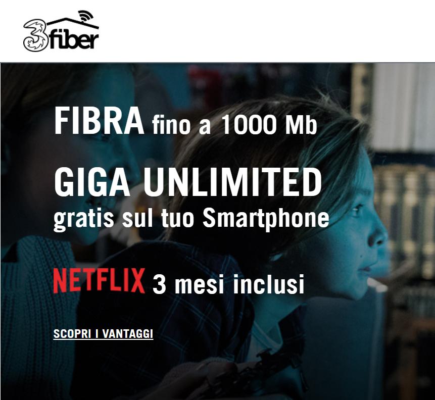 Photo of Prorogate fino al 22 Luglio 2018 le offerte di linea fissa 3Fiber e 3ADSL. Aumenta la copertura con l'ADSL fino a 7 Mega