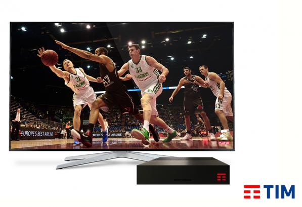 Con timvision attivabile eurosport player l for Timvision app smart tv