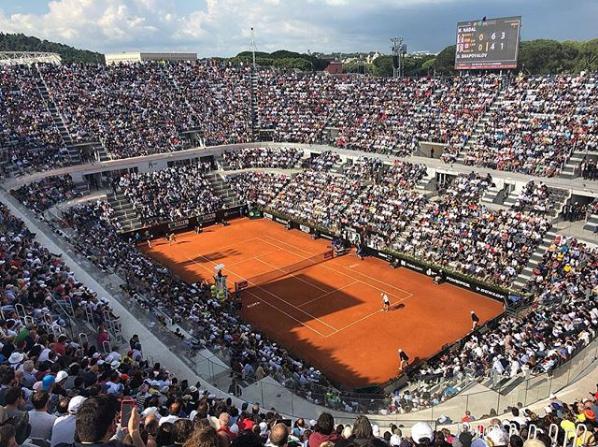 Photo of Internazionali BNL D'Italia: dove il tennis incontra lo splendore del Foro Italico. Confermata la Wind All Inclusive Celebration 30 Giga