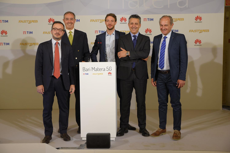 Photo of Tim, FastWeb e Huawei: presentati a Bari e Matera i primi scenari d'uso 5G