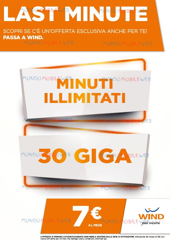 30GB Offerta Promozione PosteMobile da tutti i gestori MINUTI e SMS ILLIMITATI