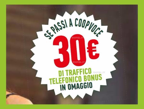 Photo of CoopVoce: SMS winback per attivare ChiamaTutti Top con 30 euro di bonus entro il 16 Gennaio 2019