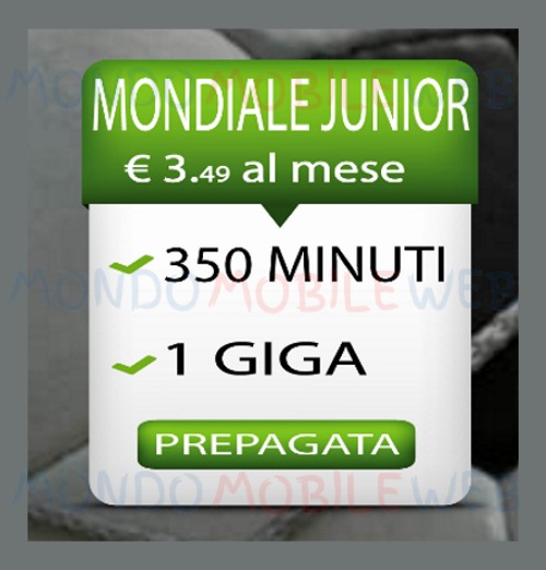Photo of Rabona Mobile: in arrivo la nuova offerta low cost Mondiale Junior a 3,49 euro al mese