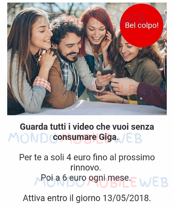 Vodafone Italia, intesa con Time Warner su diffusione Search Party