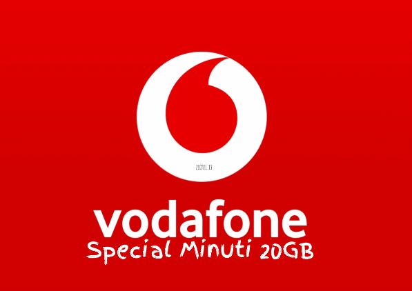 Photo of Vodafone Special Minuti 20GB con minuti illimitati verso tutti a partire da 7 euro al mese