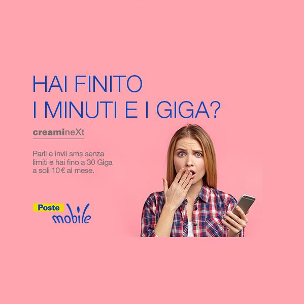 Photo of Postemobile: ancora disponibile fino al 30 Giugno 2018 l'offerta personalizzabile Creami neXt a 10 euro al mese