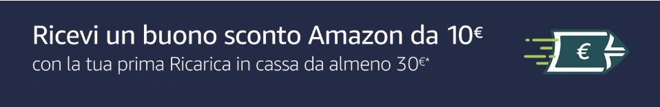 ricarica in cassa Amazon