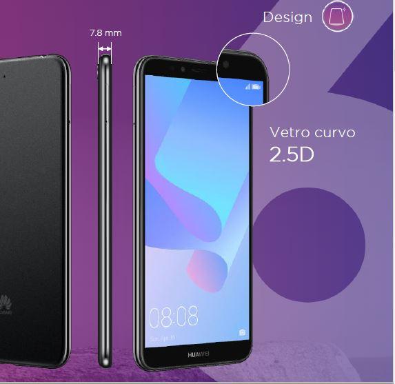 Huawei y6 2018 lo smartphone con sensore face unlock e - Vodafone porta un amico ...