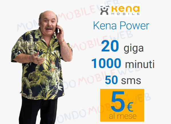 Photo of Kena Mobile: ultime ore per offerta tutto incluso Kena Power 20GB a 5 euro al mese