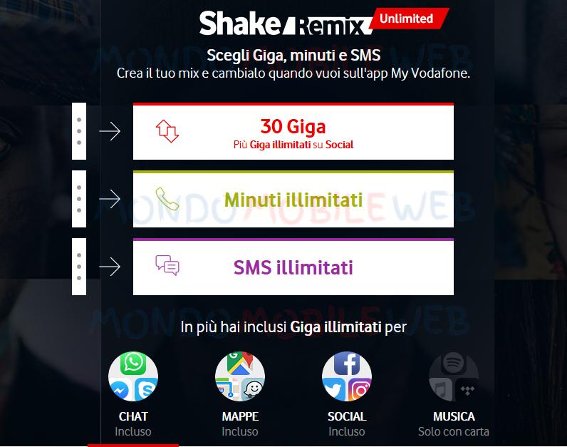 Photo of Vodafone lancia ufficialmente l'offerta Shake Remix Unlimited per gli Under 30