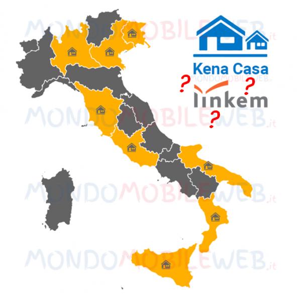 Photo of Kena Casa: rimosso il riferimento al fornitore Linkem. Sperimentazione anche in Lombardia, Toscana e Veneto