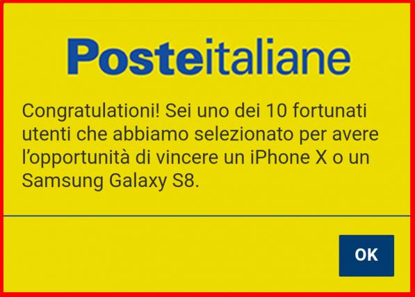 SCAM Poste Italiane