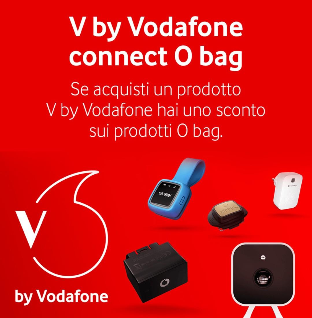 Photo of Sconto del 20% presso gli Store O Bag, per chi acquista un prodotto V by Vodafone