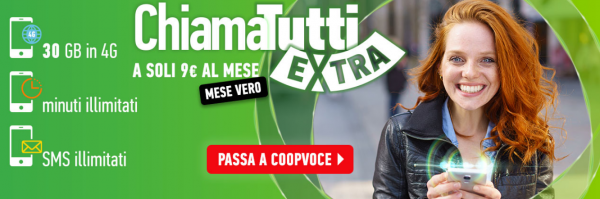 CoopVoce ChiamaTutti Extra