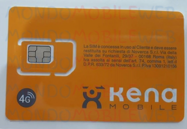 Kena Mobile SIM 4G