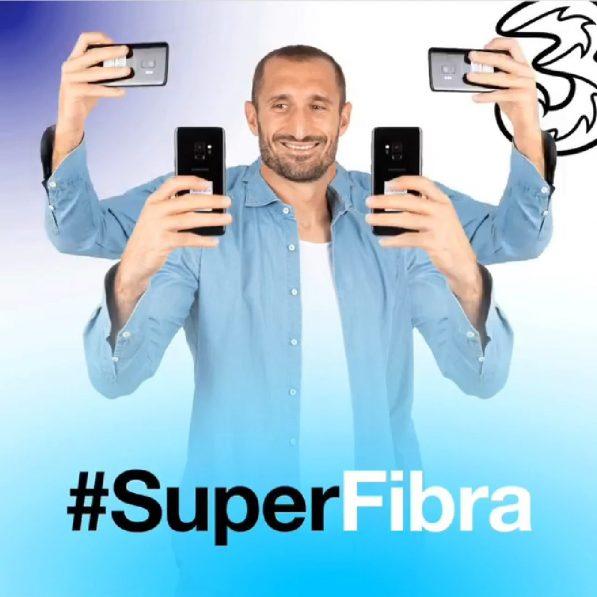 Photo of Tre rete fissa: nuovo spot con Giorgio Chiellini. Promo online a partire da 19,90 euro al mese