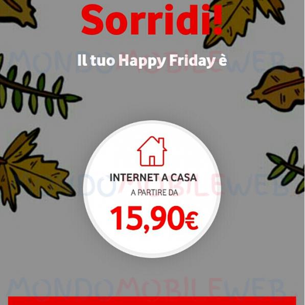 Photo of Vodafone: Internet Unlimited a partire da 15,90 euro al mese ad personam o con Happy Friday del 21 Settembre 2018
