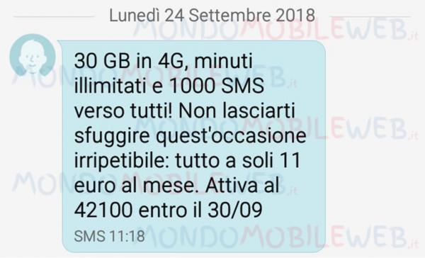 Vodafone Special 30GB