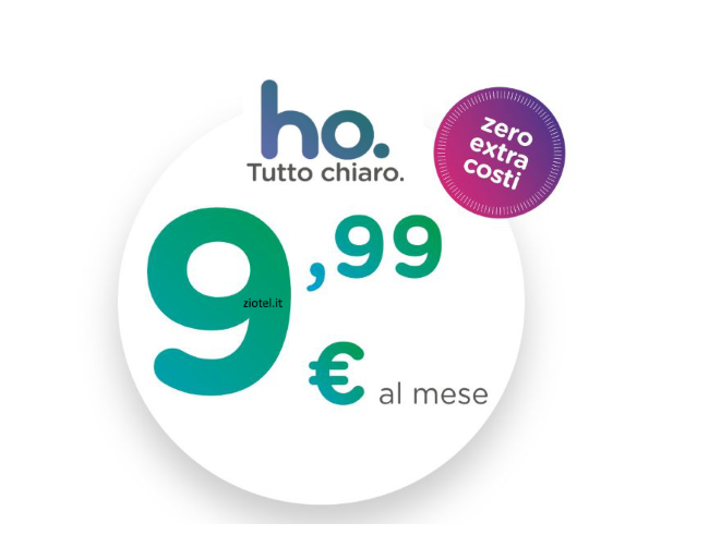 Photo of ho-mobile: da oggi disponibile solo ho. 9.99 euro con 50 Giga, minuti e sms illimitati