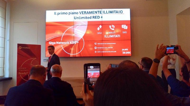 Vodafone 10 Gennaio Unlimited