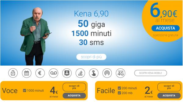 Kena Mobile offerte