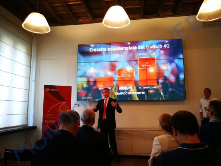 Photo of Giga Network 4.5G: tutti i dettagli della nuova rete di Vodafone presentata nella conferenza stampa del 18 Ottobre 2018