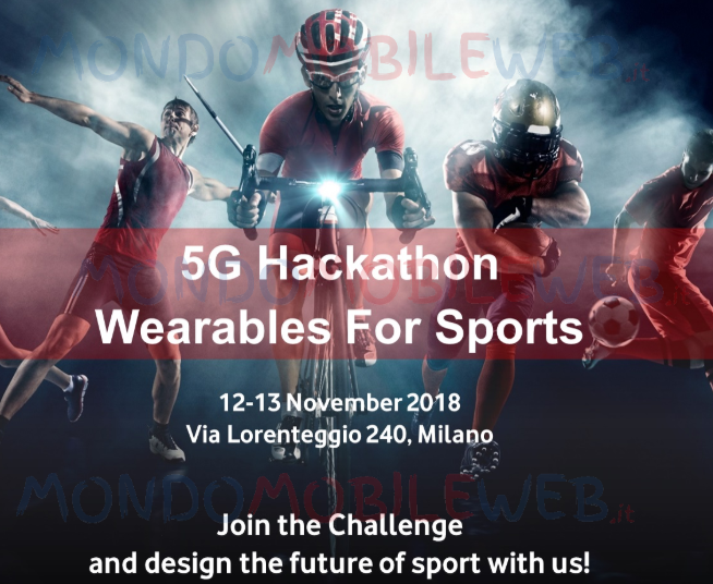 Photo of 5G Hackathon Wearables for sports di Vodafone: in palio uno stage per la sperimentazione 5G a Milano