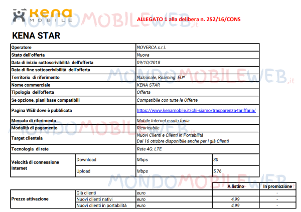 Kena Mobile Star 4G