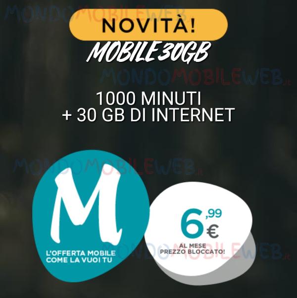 Photo of Tiscali Mobile lancia tre nuove offerte Minuti e Giga a partire da 2,50 euro al mese e fino a 50 Giga