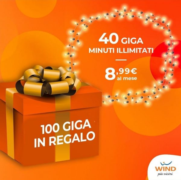 Photo of Wind: nuova offerta All Inclusive Limited Edition 40 Giga, minuti illimitati, 100 sms a 8,99 euro al mese. In più 100 Giga per 1 anno
