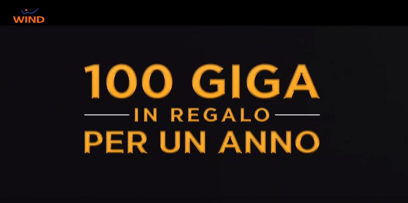 100 Giga per un anno