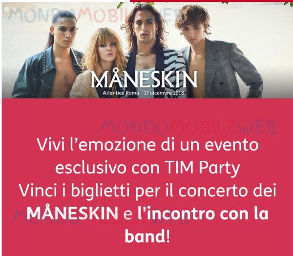 Photo of Tim Party: partito il concorso che permette di incontrare e assistere dal vivo al concerto dei Maneskin