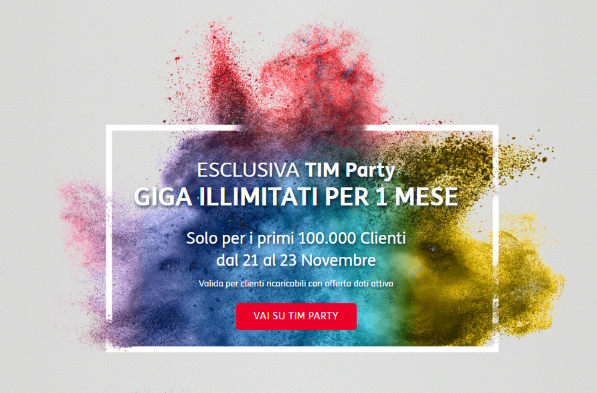 Tim Party Giga illimitati