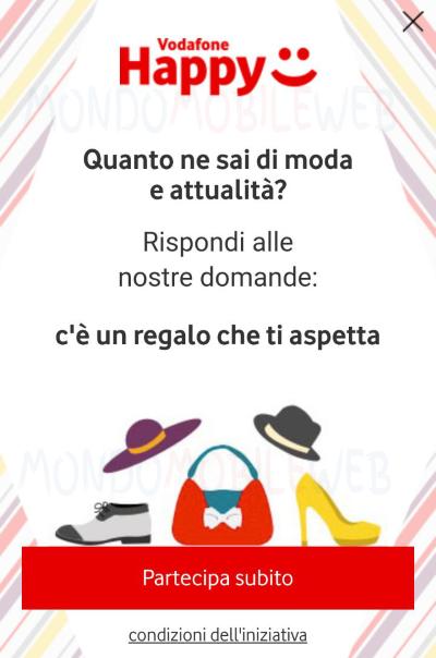 Vodafone Happy Moment Moda