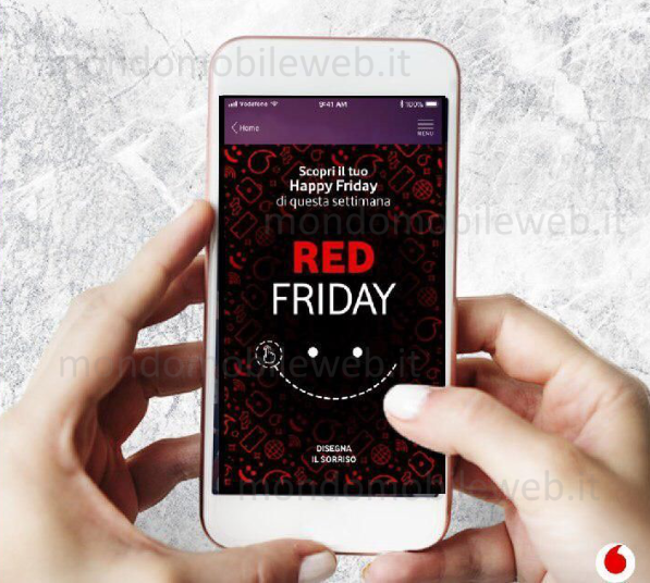 Photo of Vodafone Happy Red Friday: 50 Giga a 4,99 euro per tutti i clienti