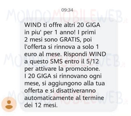 WIND SMS