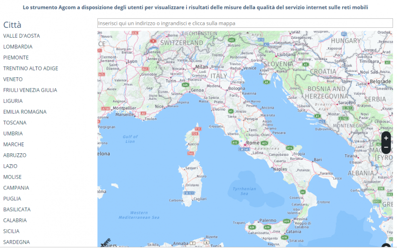 Vodafone Rete Unica Su Misura.Agcom Rilevate Le Velocita Di Connessione In 40 Citta Italiane Con