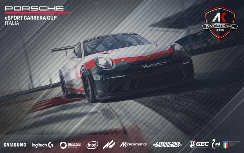 Photo of Al via la gara Ak Invitational – Porsche eSport Carrera Cup Italia per lo sviluppo degli eSports