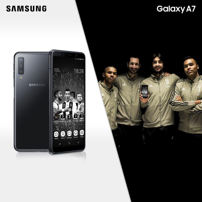 Photo of Samsung lancia il Galaxy A7 Juventus Special Edition per i tifosi della Vecchia Signora