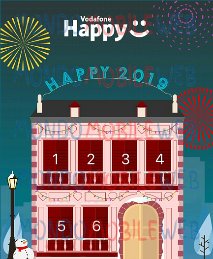 Vodafone Happy New Year