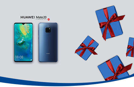 A Natale vinci Huawei Mate 20 con TIM Party