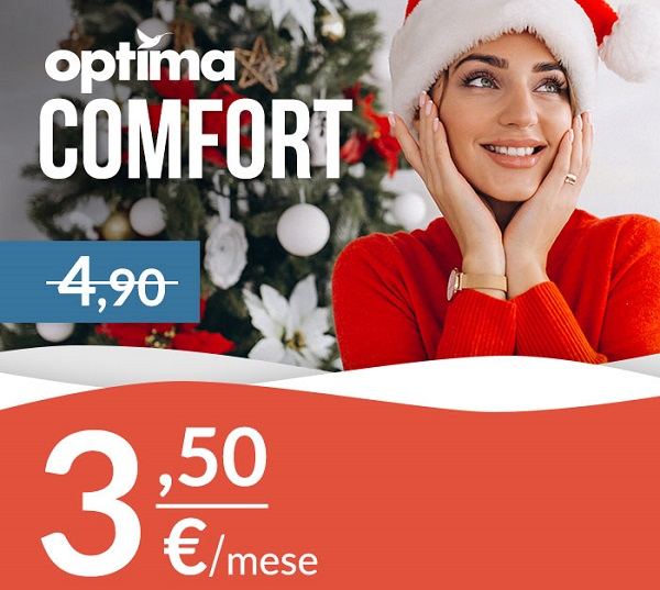 Photo of Optima Mobile: promo Christmas Edition per le offerte Semplice, Comfort e 20 Special