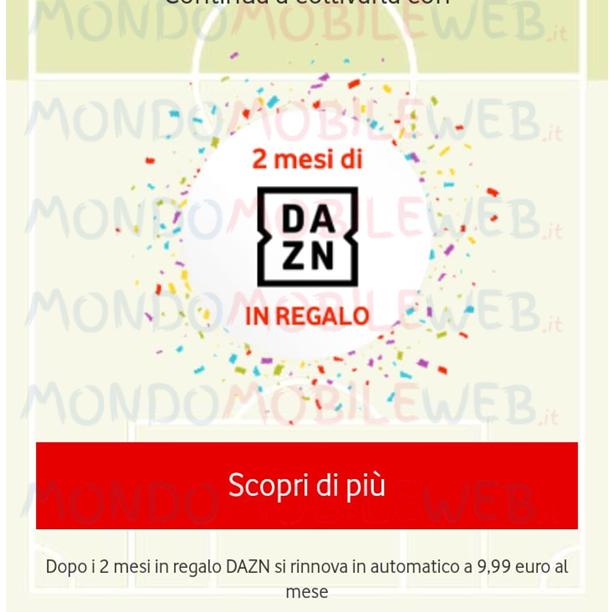 Photo of Vodafone Happy Moment: 2 mesi di DAZN in regalo ad alcuni clienti selezionati