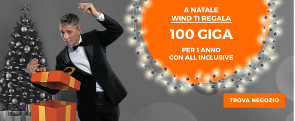 Wind 100 Giga in regalo