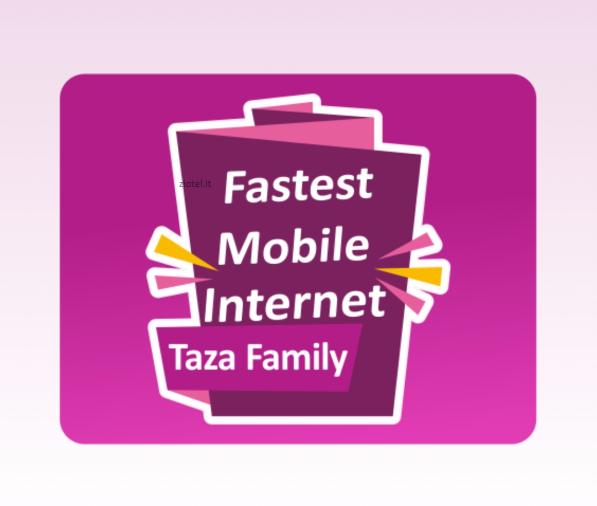 Photo of Anche Taza Mobile utilizza la rete 4G di Vodafone con velocità fino a 60Mbps