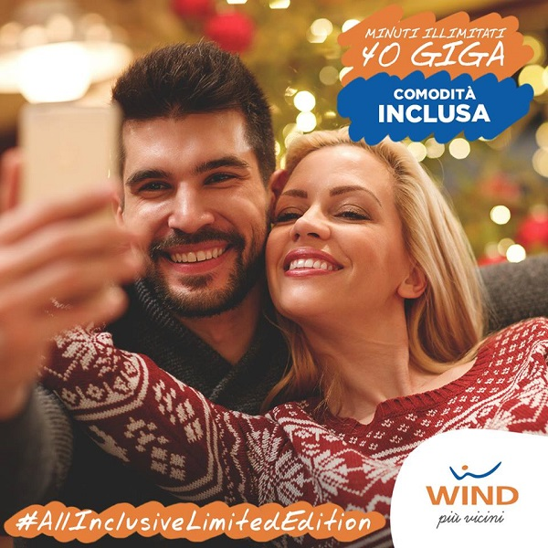 Photo of Wind: riparte il countdown della All Inclusive Limited Edition con 40 Giga