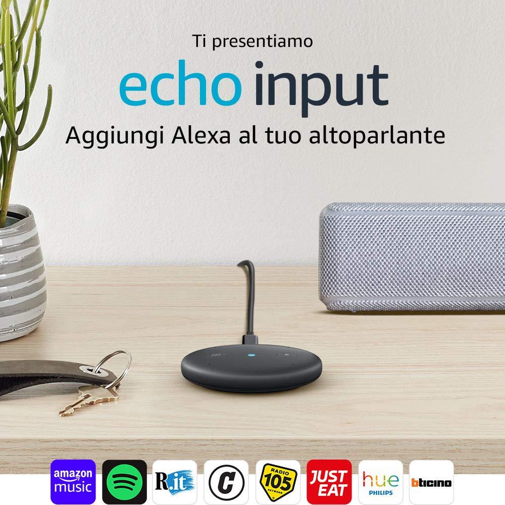 Photo of Amazon Echo Input: l'assistente Alexa arriva anche su altoparlanti esterni a 39,99 euro