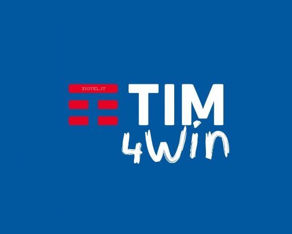 Photo of Tim 4Win: 1000 minuti e 10 Giga a 9,99 euro al mese per chi attiva un nuovo numero